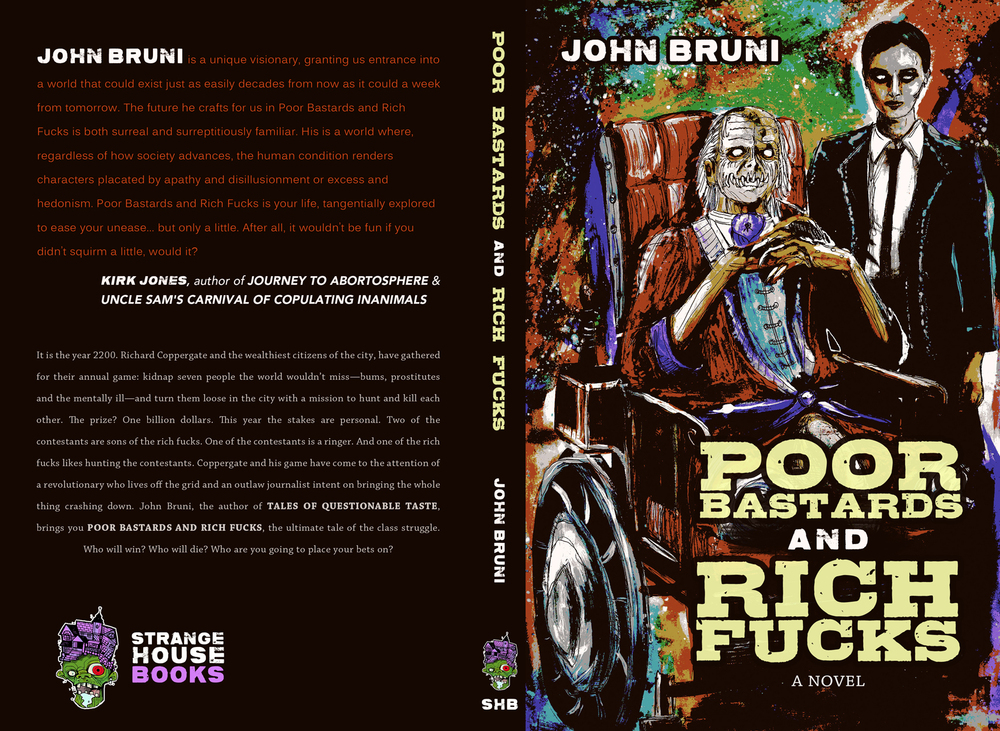 Poor Bastards and Rich Fucks Book Jacket