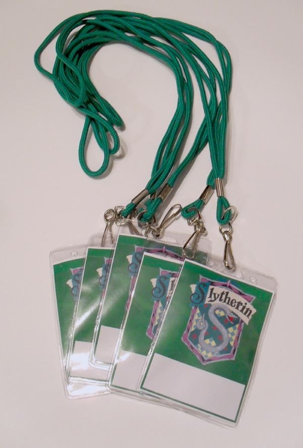 Customer Lanyard Badges