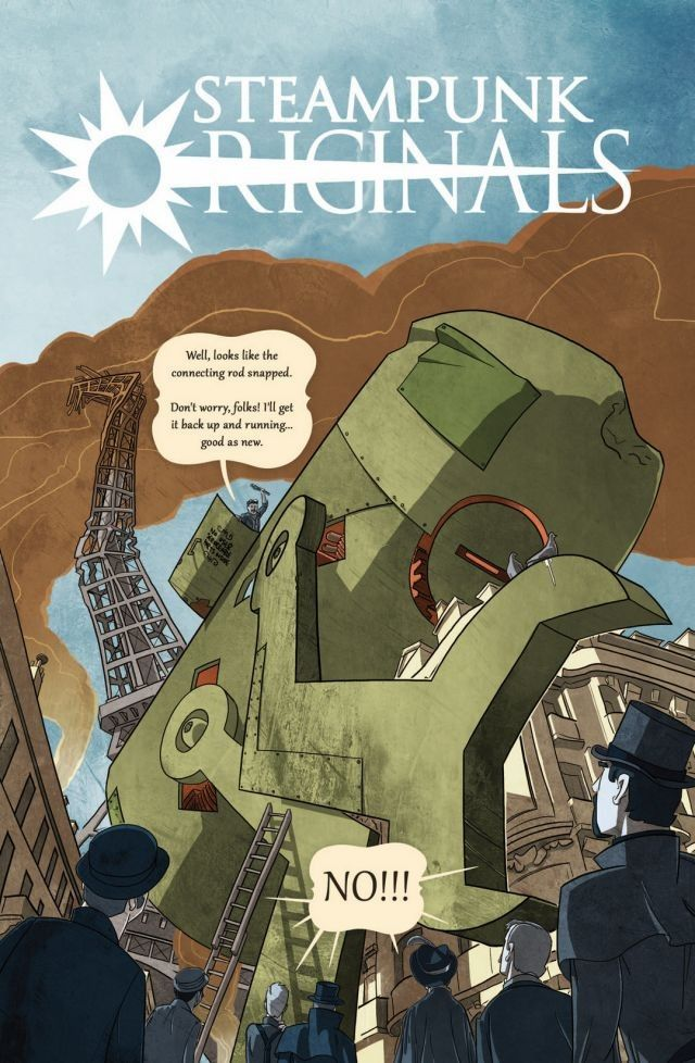Steampunk Originals Vol 1 - Curated byMike SchneiderArt byVarious