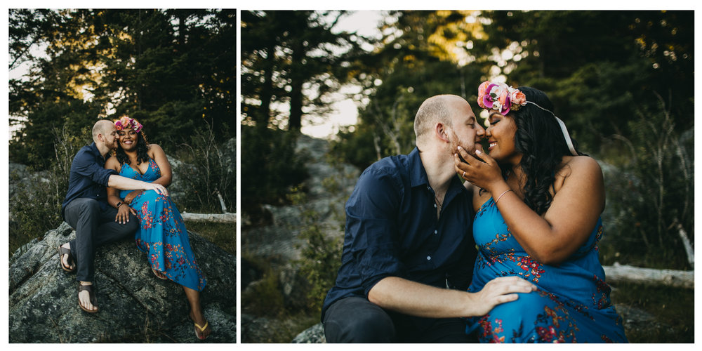 engagement whytecliff park kiss bride groom hug love