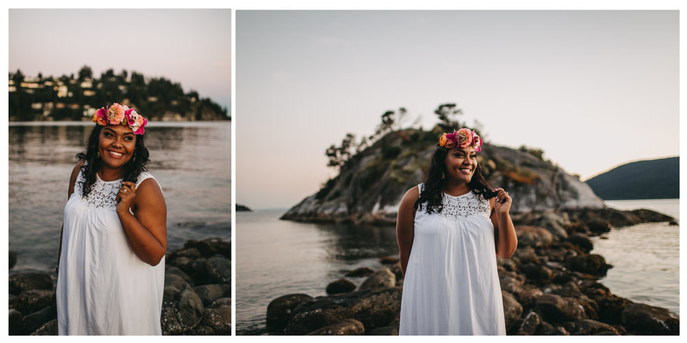"<img src=""engagement.jpg"" alt=""girl in white dress and flower crown at whytecliff park for engagement session "">"