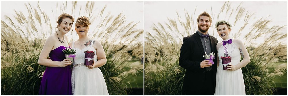 pitt meadows wedding couple with siblings