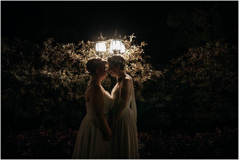 same sex couple pitt meadows wedding