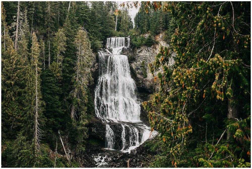 alexander falls whistler elopement