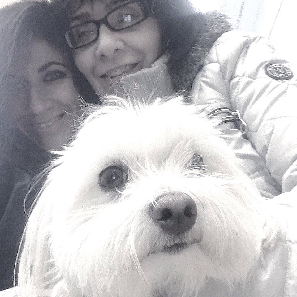 Mom and I with Bonito!