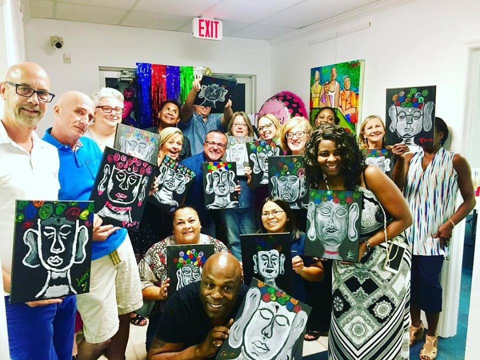 Adult Painting Party -