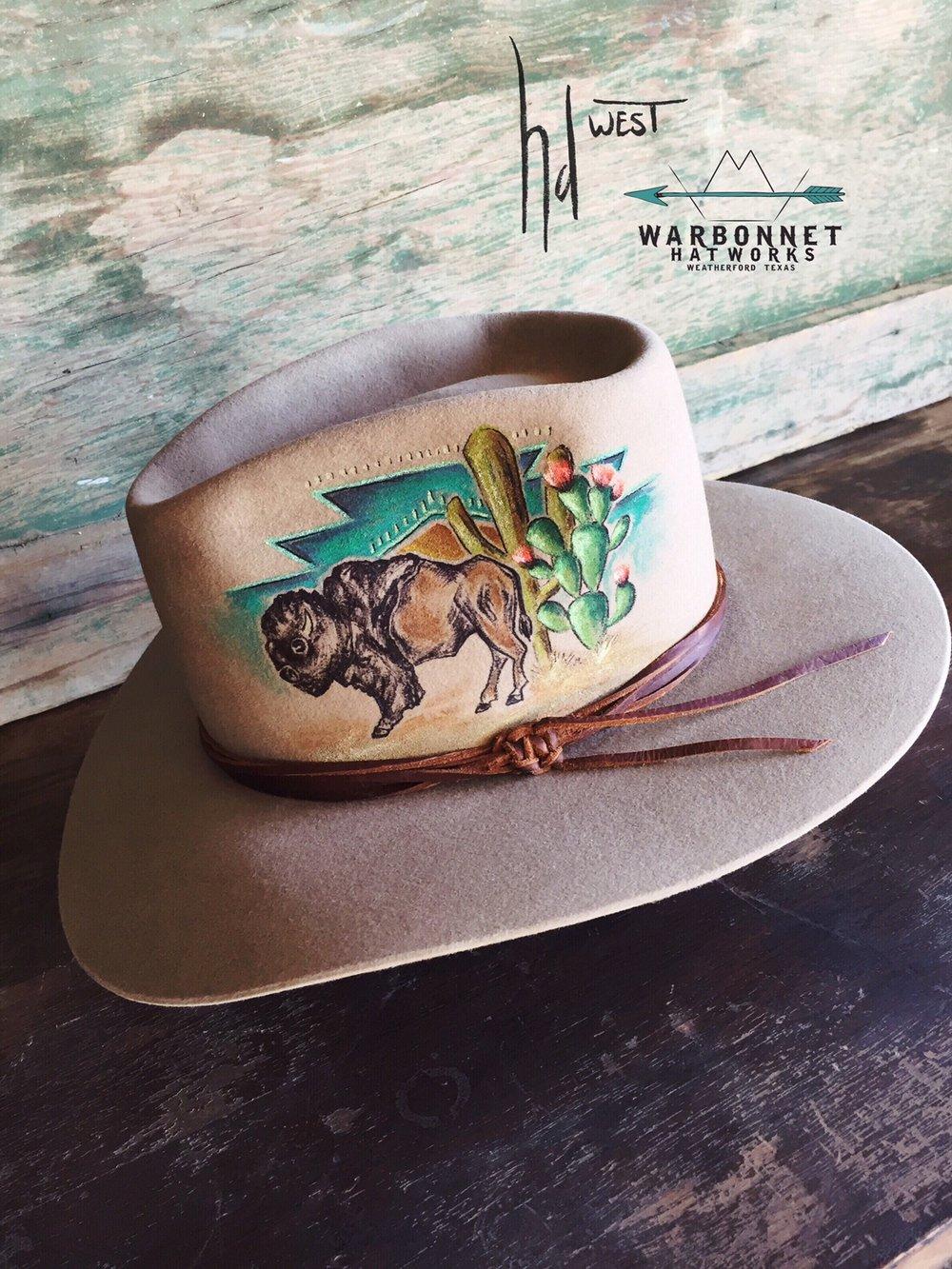 hdwest/warbonnet hat