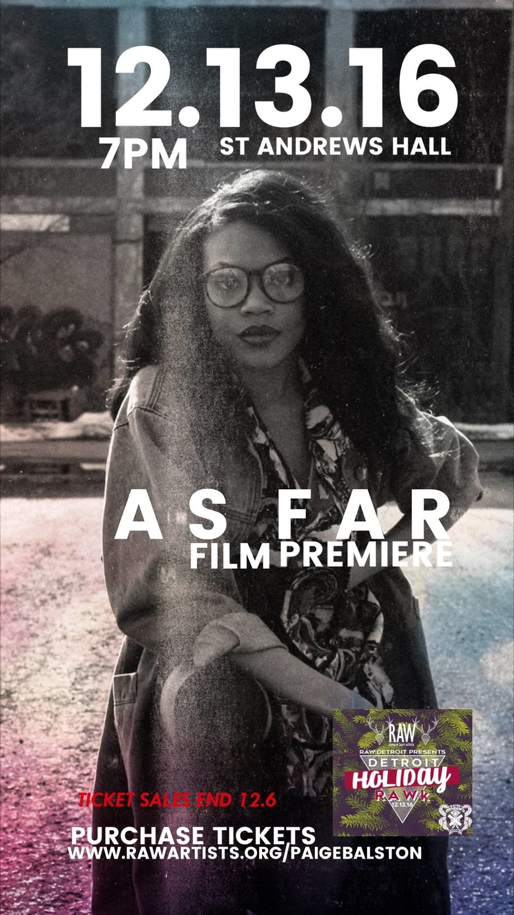 Purchase Tickets to the premiere of 'As Far'  here