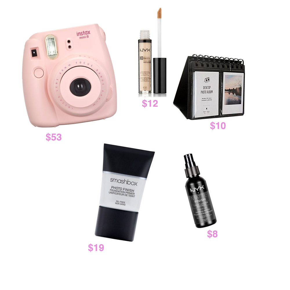 CAMERA ALBUM PHOTO FINISH PRIMER NYX MAKEUP SETTING SPRAY PHOTOGENIC CONCEALER