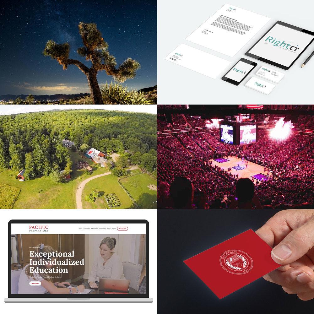Creative Services - Brand Films, Photography, Interactive UI/UX, Graphic Design & Production ManagementExplore Creative Services >>
