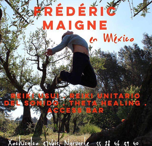 Los invitamos este sábado 14 de abril a las 10am  a la plática informativa del Reiki Unitario del Sonido con Frederic Maigne. ¡No se lo pierdan!