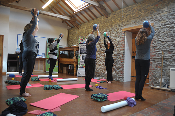 Welsh Pilates weekend