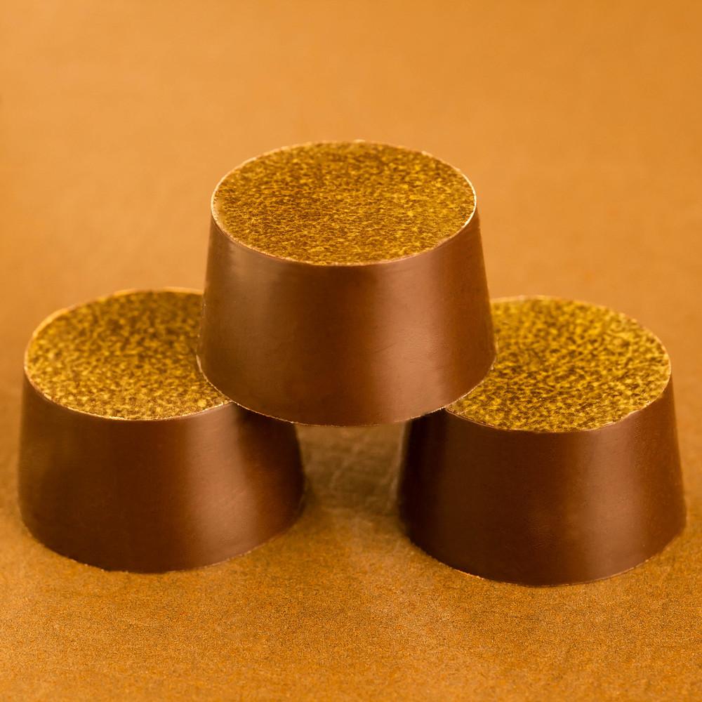Honning og Hasselnødder Temper Chokolade