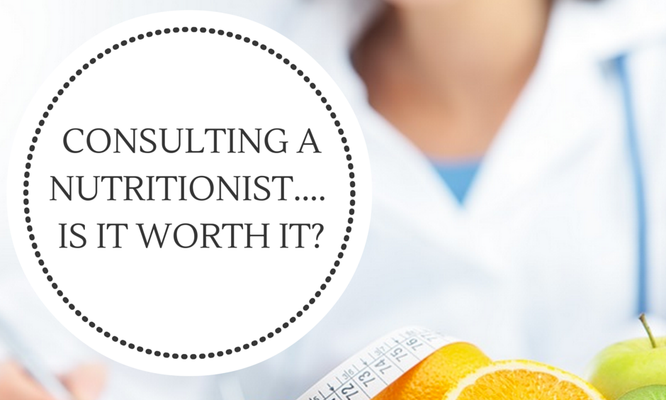 Is a nutritionist worth it?