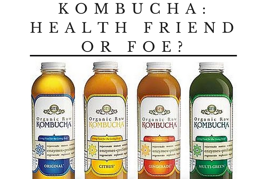 Kombucha: Health Friend Or Foe?