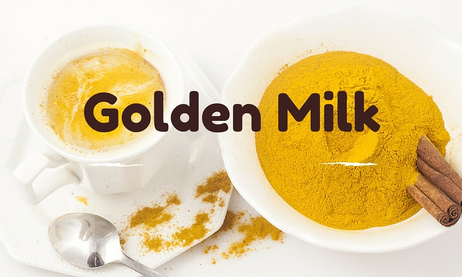 A cup of golden milk