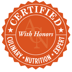 certified culinary nutrition expert