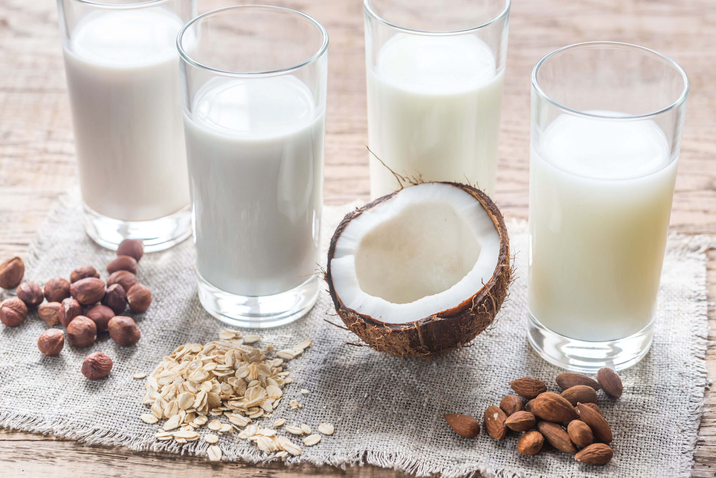A Look At Milk Alternatives
