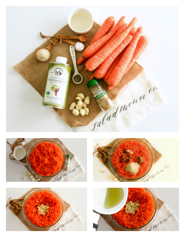 How to make a carrot salad