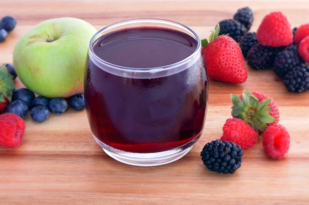Homemade Fruit Juice