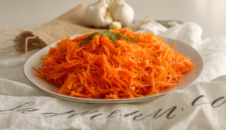 quick marinated carrot salad recipe