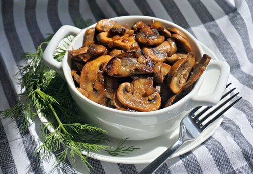 Simple Mushroom Dish