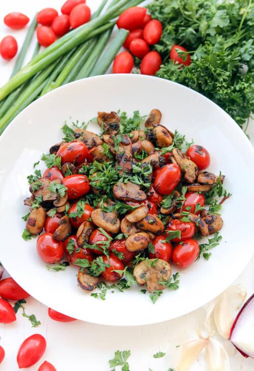 A+plate+of+warm+mushroom+tomato+salad.jpeg