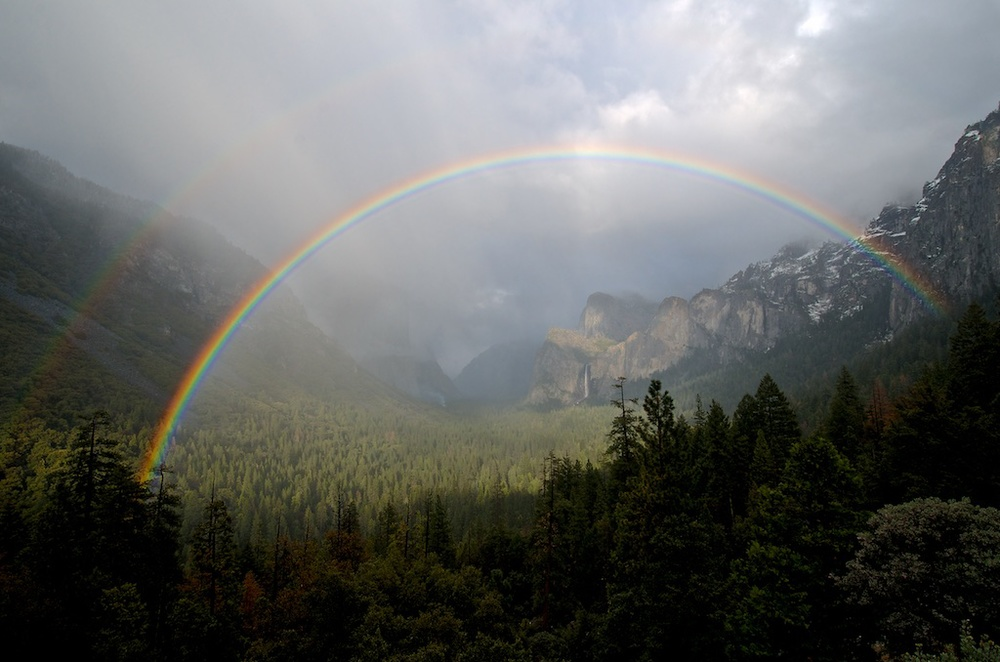 Rainbow in Yosemite