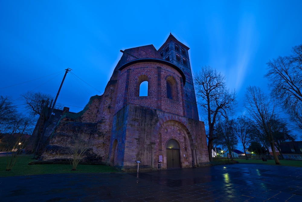Stiftsruine Bad Hersfeld at 14mm.