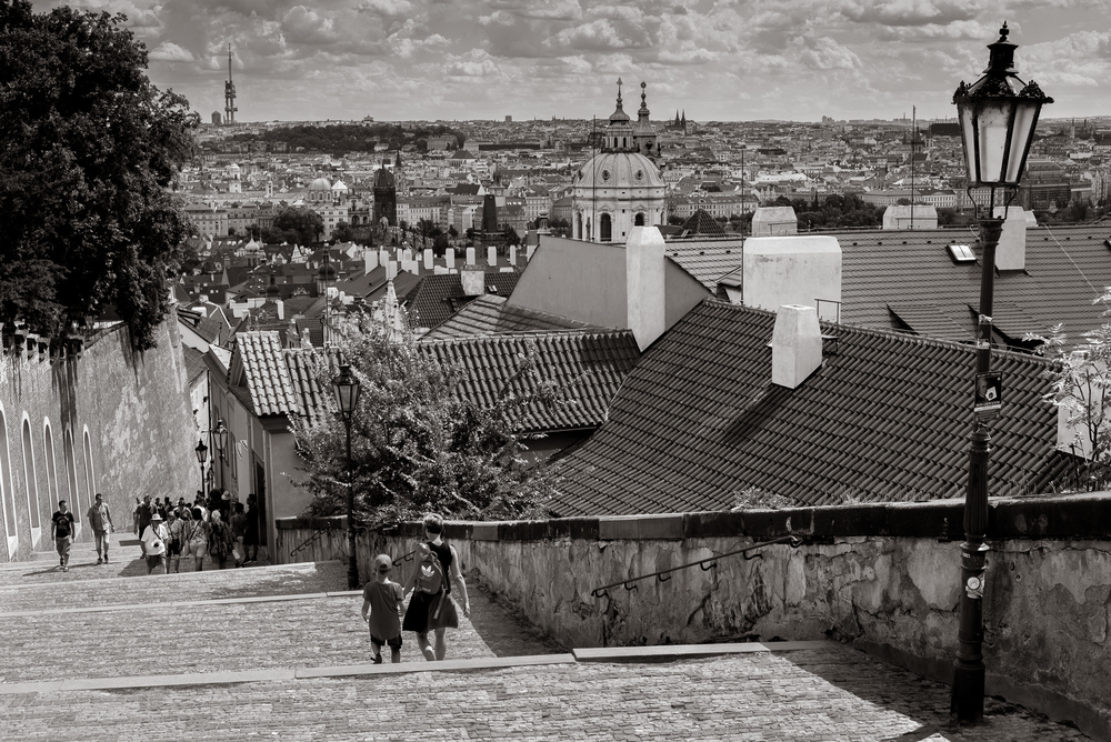 Prague as seen from the castle