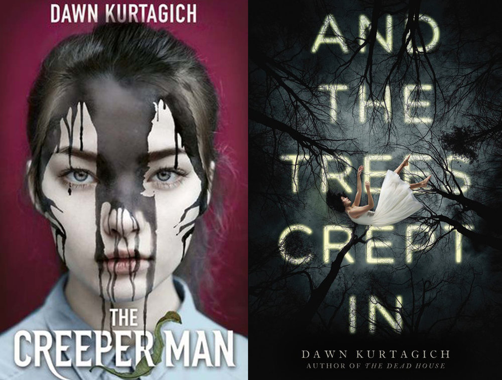 THE CREEPER MAN /AND THE TREES CREPT IN  - UK and US Editions