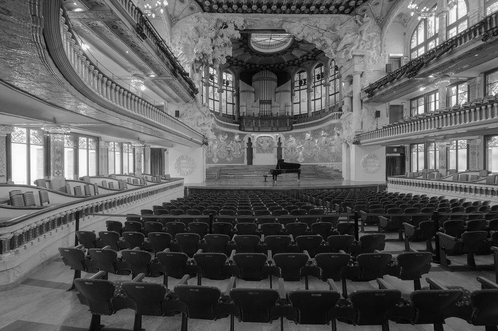 Concert Hall  Barcelona 2018