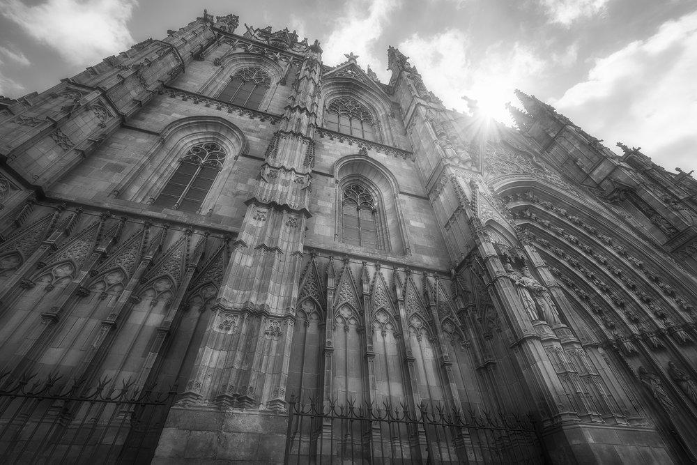 Catedral de la Santa Creu i Santa Eulàlia I  Barcelona 2018