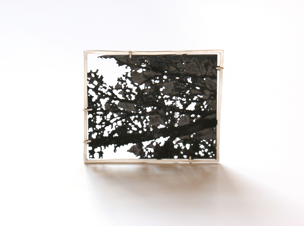 Etched Brooch - Can't see the wood from the trees (55 x65 x1.jpg
