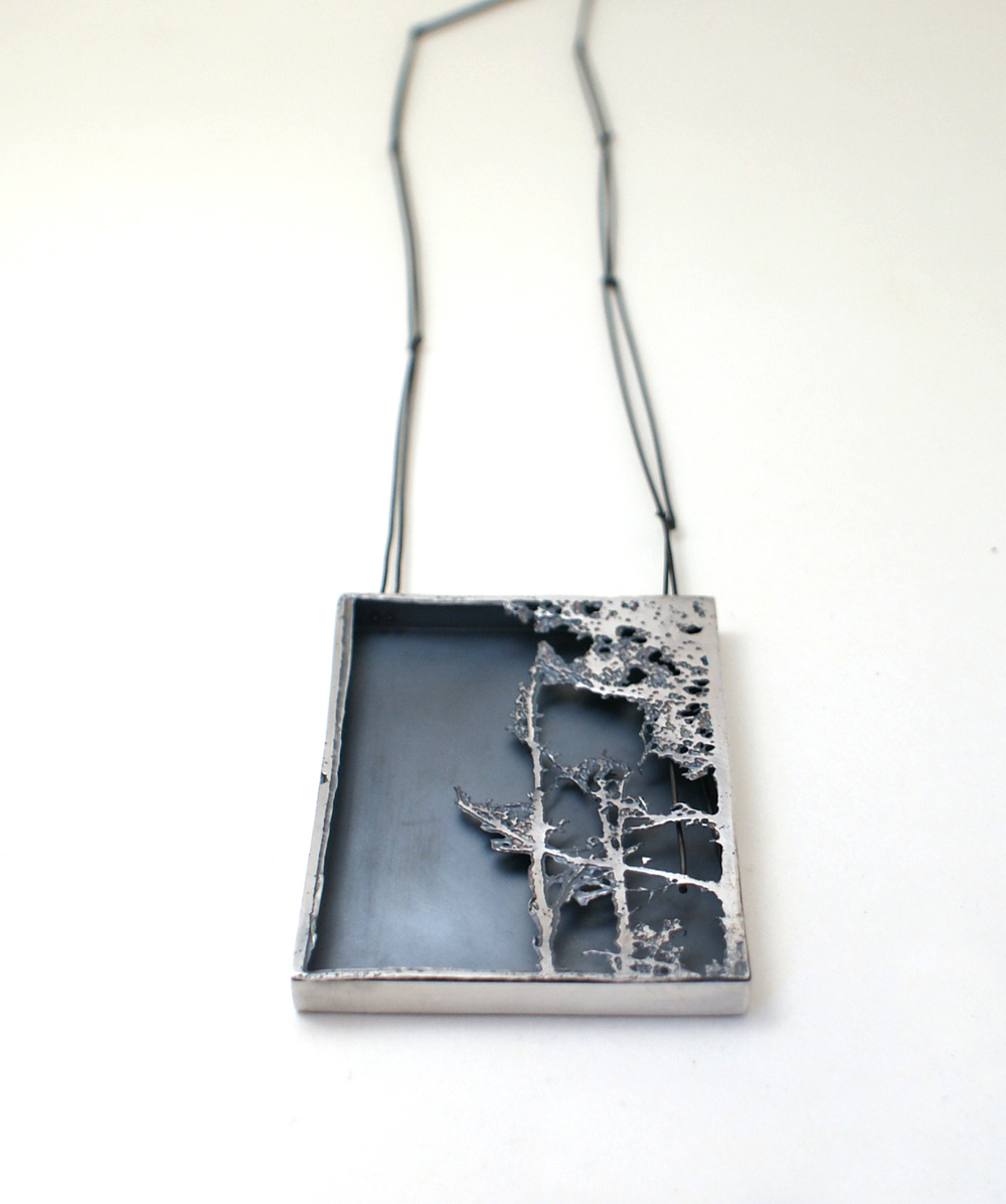 Pendant - Can't see the wood from the trees 2009 (50 x 65 x 7mm).jpg