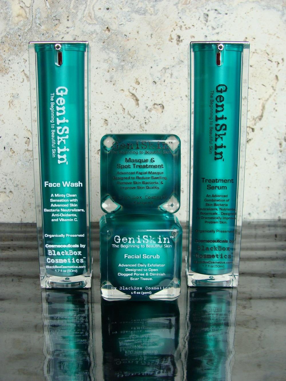 GeniSkin Acne System by BlackBox Cosmetics