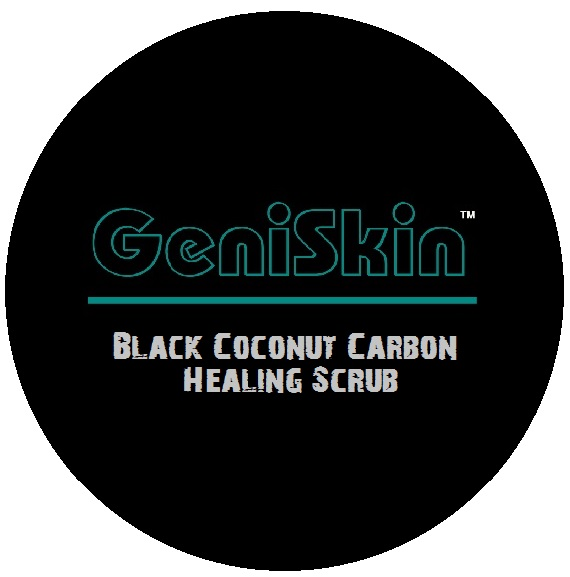BlackBox Cosmetics Geniskin carbon scrub