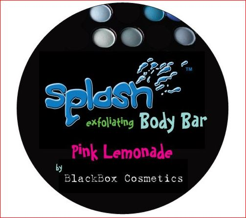 BlackBox Cosmetics Pink Lemonade exfoliating bar