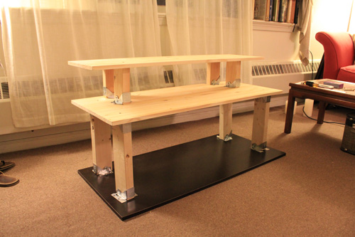 How To Build A Standing Desk For 50 Joshua Berman Design