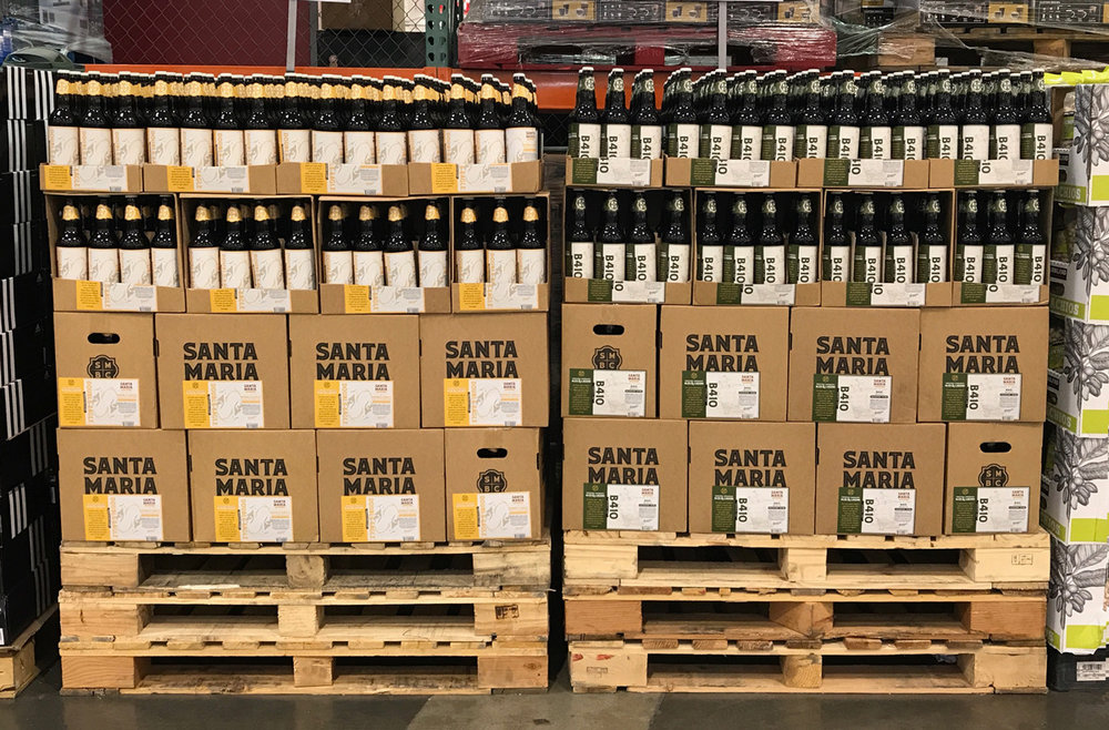Here we are in Costco.