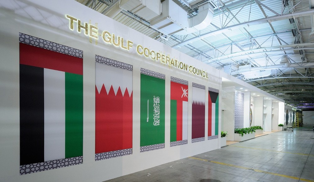 The Gulf states had a pavilion bigger than my childhood home. Photo by Arnaud Bouissou, courtesy of COP 21.