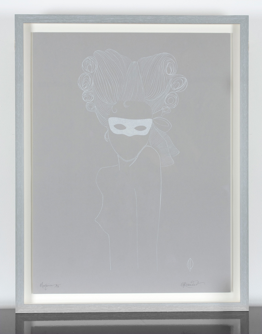 Marion Rhoades Screen Print