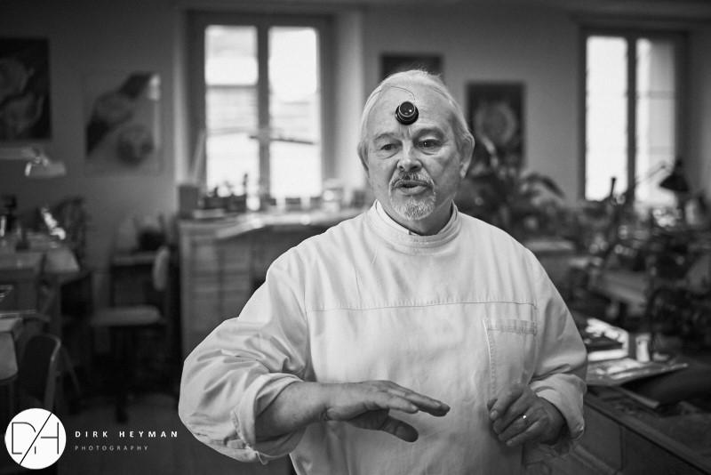 Philippe Dufour © Dirk Heyman
