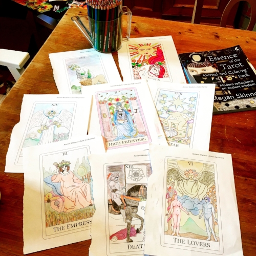 Essence Of The Tarot Journal Coloring Book Contest