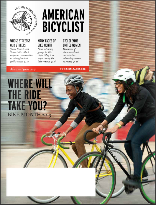 American Bicyclist Cover May/June 2013