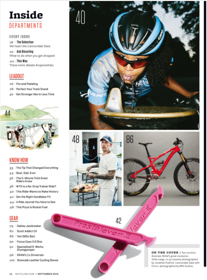 Bicycling Magazine Page 40