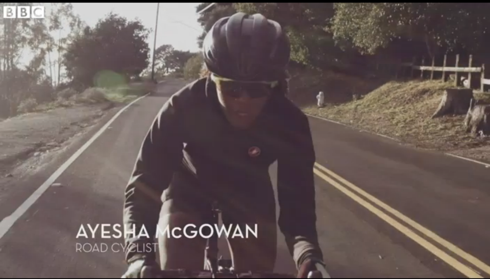 BBC NEWS:  The African American woman who wants to change the face of road cycling.