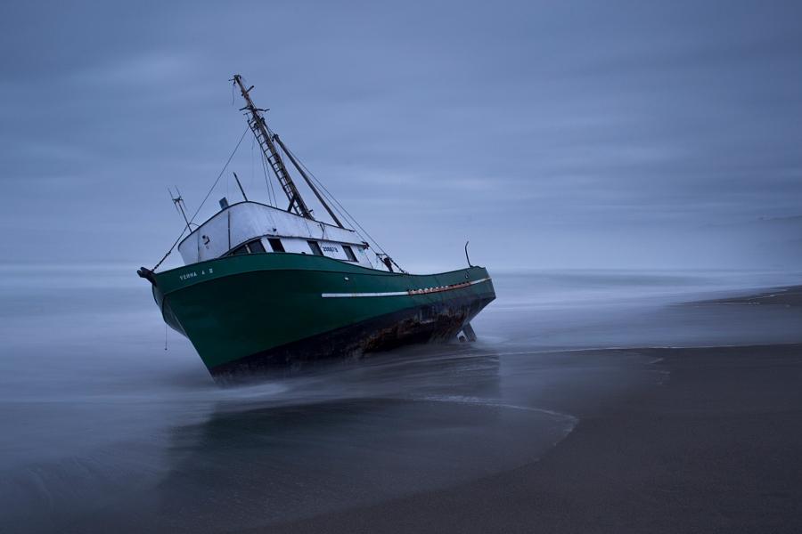 Bodega Bay Shipwreck