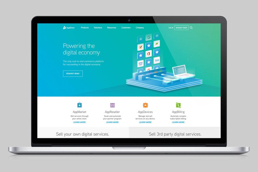 AppDirect.com | Art Direction, Designed by Mathew Barnes