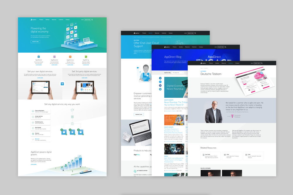 AppDirect.com | Art Direction and Design with Mathew Barnes